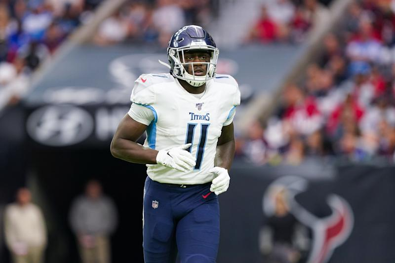Tennessee Titans wide receiver A.J. Brown