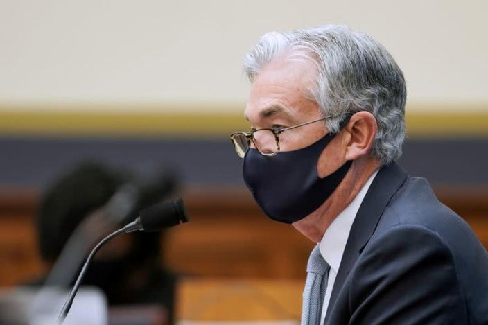 FILE PHOTO: Oversight of Treasury Department's and Federal Reserve's Pandemic Response hearing in Washington
