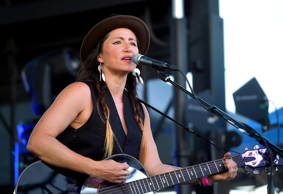 KT Tunstall has pulled out of tour dates due to fears over her hearing. (Photo by Matt Winkelmeyer/Getty Images)