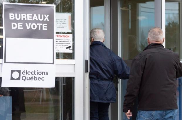 Change may be on the horizon in quebec as voting underway