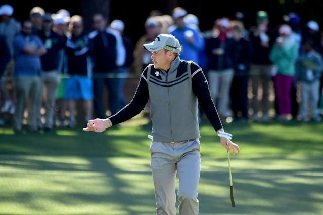 "<a class=""link rapid-noclick-resp"" href=""/pga/players/9611/"" data-ylk=""slk:Danny Willett"">Danny Willett</a> struggled in his Masters title defense. (Getty Images)"