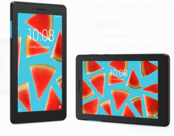 "Lenovo Tab E7, 7"" Android Tablet. (Photo: Walmart)"