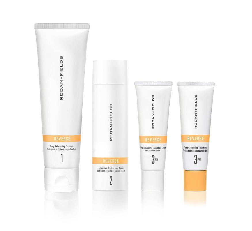 """<p>""""The products that you used when you were younger don't work once you get a little bit older. The Rodan + Fields Reverse line is what works best for me now. It's helping with my hyperpigmentation and isn't drying. I just gifted it to my sister because I love it.""""</p> <p><strong>Buy It!</strong> Rodan + Fields Reverse Regimen, $195; <a href=""""https://www.pntra.com/t/8-12607-131940-233451?sid=PEOVivicaAFoxsStyleandBeautyEssentialsjfields1271StyGal12812182202107I&url=https%3A%2F%2Fwww.rodanandfields.com%2Fshop%2Freverse-regimen%2Fp%2FHRVRGG01"""" rel=""""sponsored noopener"""" target=""""_blank"""" data-ylk=""""slk:rodanandfields.com"""" class=""""link rapid-noclick-resp"""">rodanandfields.com</a></p>"""