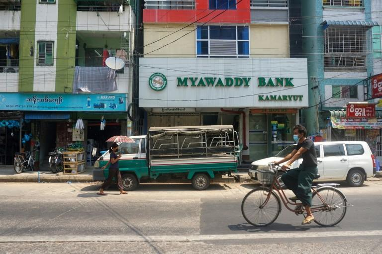 Despite being the sixth-biggest domestic bank in Myanmar, military-controlled Myawaddy is only allowing 200 customers per branch to make withdrawals limited to 500,000 kyat a day -- about $370