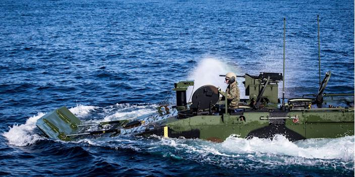 Marine Corps Amphibious Combat Vehicle
