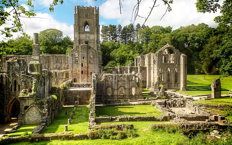 Fountains Abbey - getty