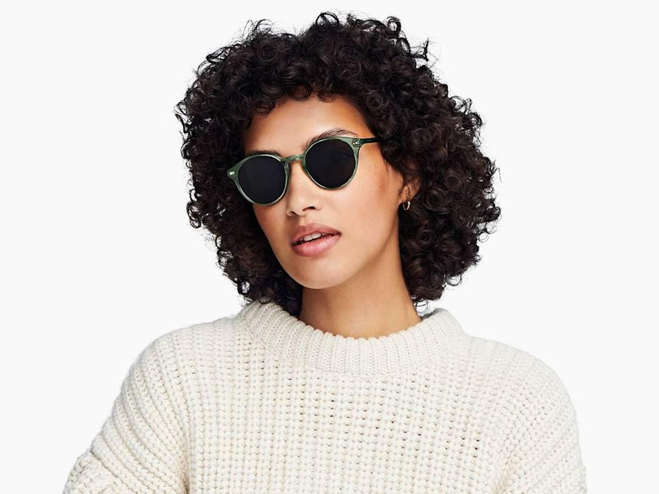 <p>Get your hands on these cool green <span>Warby Parker Morgan Sunglasses</span> ($95), and thank us later. If you want polarized or prescription lenses, that's an option at Warby Parker.</p>