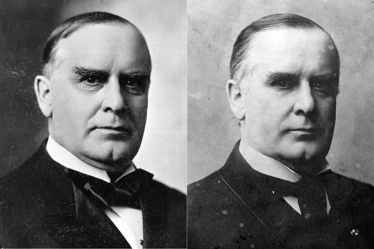 <p>After serving 14 years in the House and two terms as Governor of Ohio, McKinley won the presidential election in a landslide. Newspapers often criticized his leadership skills, and it's believed that this pressure pushed him to declare war with Spain in 1898. In 1900, McKinley won a second term, which was tragically cut short when he was shot in September 1901 and died eight days later. </p>
