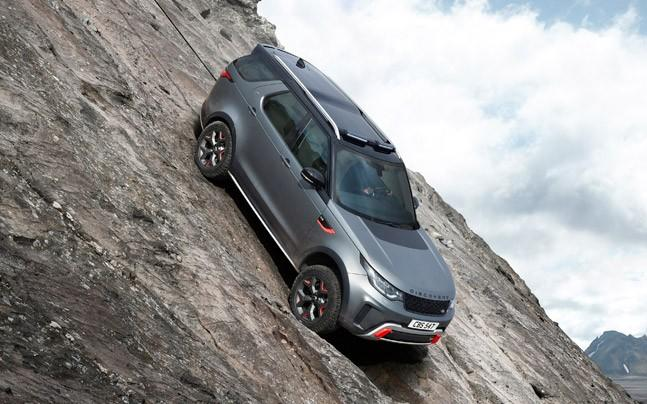 <p>Land Rover has revealed the Discovery SVX at the ongoing Frankfurt Motor Show.</p><p> </p>