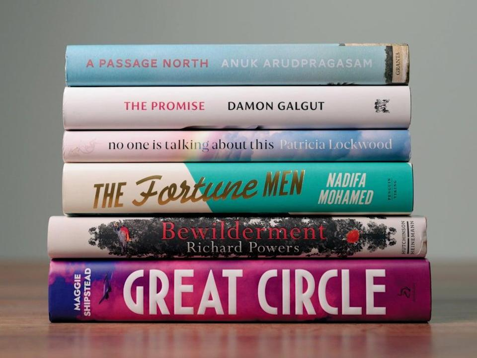 All six novels shortlisted for the 2021 Booker Prize (The Booker Prizes)
