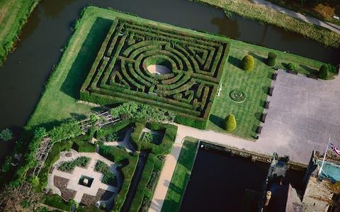 Hever Castle's maze - Credit: GETTY