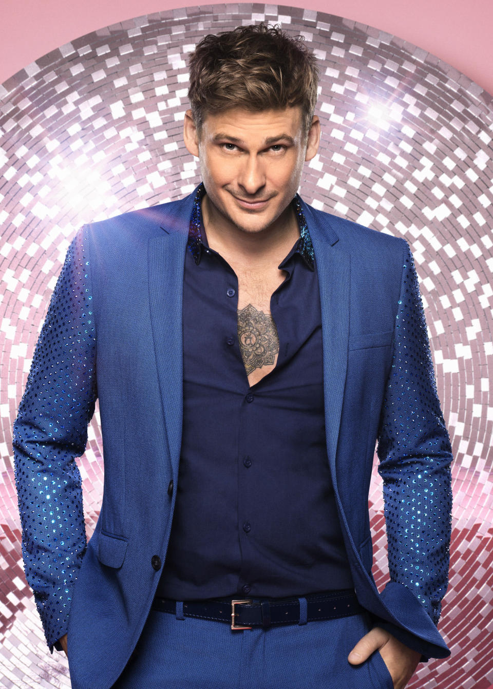"""<p>Ryan said he's sort advice from former Strictly competitor and his Blue bandmate Simon Webbe: """"The biggest thing he said was to have fun and enjoy myself. Be myself and be happy like I am, I'm a happy go lucky kind of guy, and to enjoy the whole process because it is an absolute mental thing. It is hard to comprehend how huge it is and then when you start doing it you think oh what have I signed myself in for?"""" (BBC Pictures). </p>"""