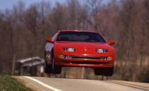"""<p>It's only natural that when given a 300-hp, twin-turbocharged Nissan sports car, we'd steer it toward the nearest pavement whoop and punch the gas. And so we did during <a href=""""http://www.caranddriver.com/comparisons/nissan-300zx-turbo-vs-dodge-stealth-r-t-turbo-archived-comparison-test"""" rel=""""nofollow noopener"""" target=""""_blank"""" data-ylk=""""slk:a 1991 comparison test"""" class=""""link rapid-noclick-resp"""">a 1991 comparison test</a> that pitted the 300ZX against a Dodge Stealth R/T Turbo.</p>"""