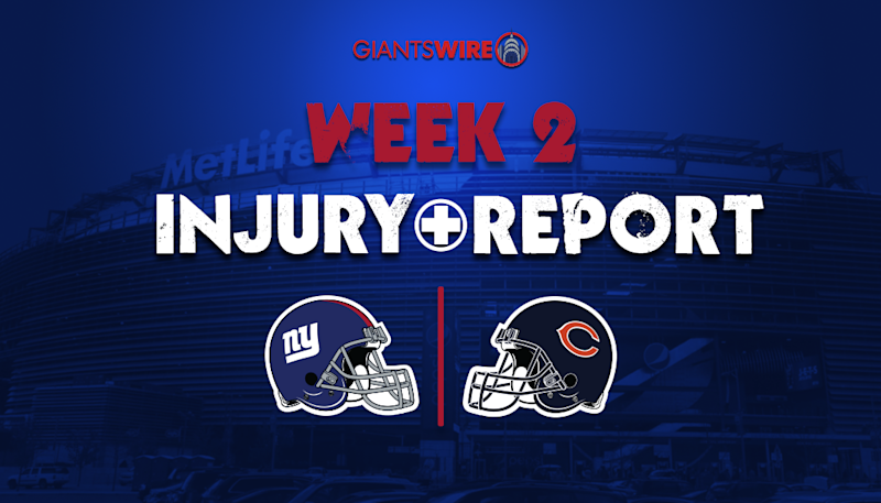 Giants injury report: Golden Tate listed as questionable