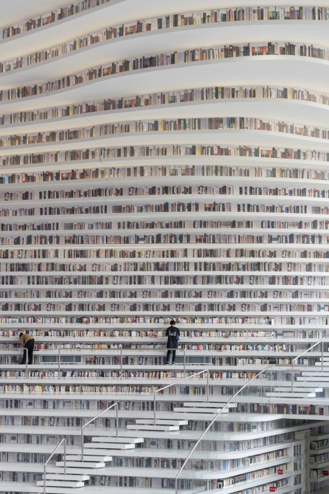 <p>The library was designed by Dutch design firm MVRDV in collaboration with the Tianjin Urban Planning and Design Institute (TUPDI). (MVRDV) </p>