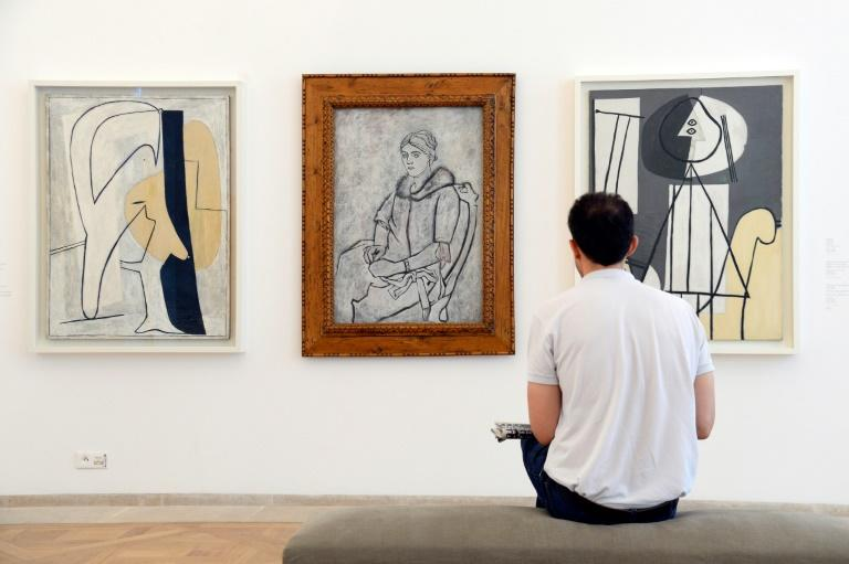 Picasso's paintings of his forgotten wife Olga also featured in an exhibition at the Picasso museum in Paris in 2014