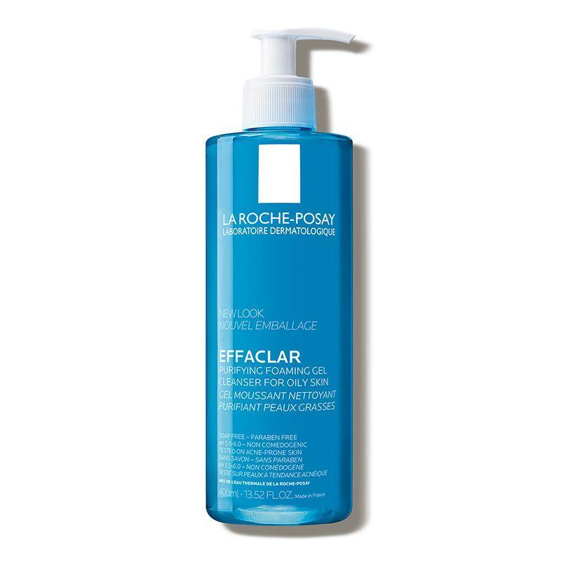 """<p><strong>La Roche-Posay</strong></p><p>dermstore.com</p><p><strong>$20.00</strong></p><p><a href=""""https://go.redirectingat.com?id=74968X1596630&url=https%3A%2F%2Fwww.dermstore.com%2Fproduct_Effaclar%2BPurifying%2BFoaming%2BGel%2BCleanser%2Bfor%2BOily%2BSkin_72087.htm&sref=https%3A%2F%2Fwww.oprahdaily.com%2Fbeauty%2Fskin-makeup%2Fg36743937%2Fbest-face-wash-for-acne%2F"""" rel=""""nofollow noopener"""" target=""""_blank"""" data-ylk=""""slk:Shop Now"""" class=""""link rapid-noclick-resp"""">Shop Now</a></p><p>There are two major things Zeichner wants you to know about this pick. First, it contains a zinc-based surfactant for a foam that's gentle and won't disrupt the pH of your skin. Second, it's chock full of La Roche-Posay's renowned thermal spring water, which helps to calm inflammation and balance the skin's microbiome.</p>"""