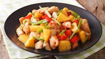 <p><strong>Cost:</strong> $3.91</p> <p>There's a lot to like in this Asian-inspired meal, starting with its bright, bold flavors. If you look further, you'll find a substantial 16 grams of protein, 20% of your day's fiber, a quarter of your vitamin C, and substantial quantities of important trace minerals including phosphorus, selenium and manganese.</p>