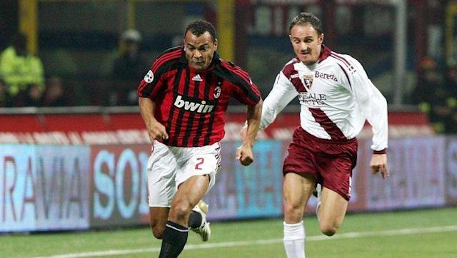 <p>Another Serie A star, well a former one, features in this gathering of world-class talent with marauding Brazilian full-back Cafu occupying the right.</p> <br><p>The former Roma and AC Milan star was a remarkable athlete blessed with outrageous skill, and went on to lift the World Cup with Brazil in 2002 as captain.</p>