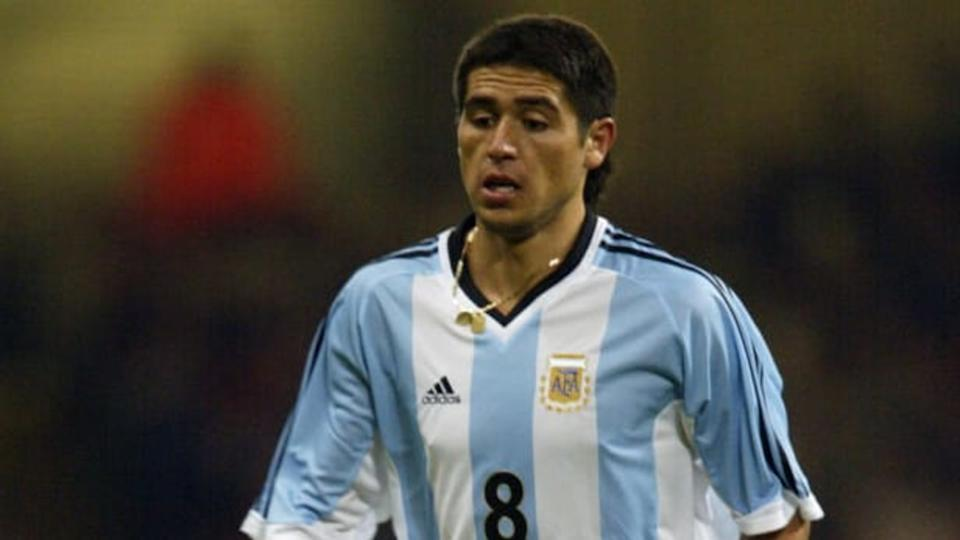 Juan Roman Riquelme | Phil Cole/Getty Images