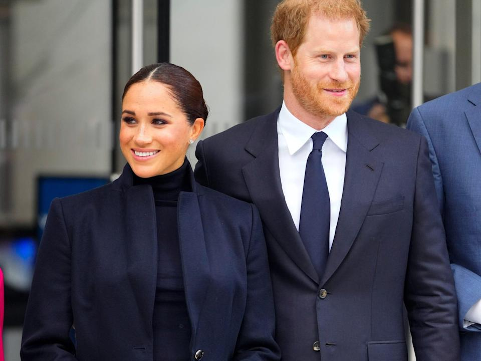 Meghan and Harry NYC
