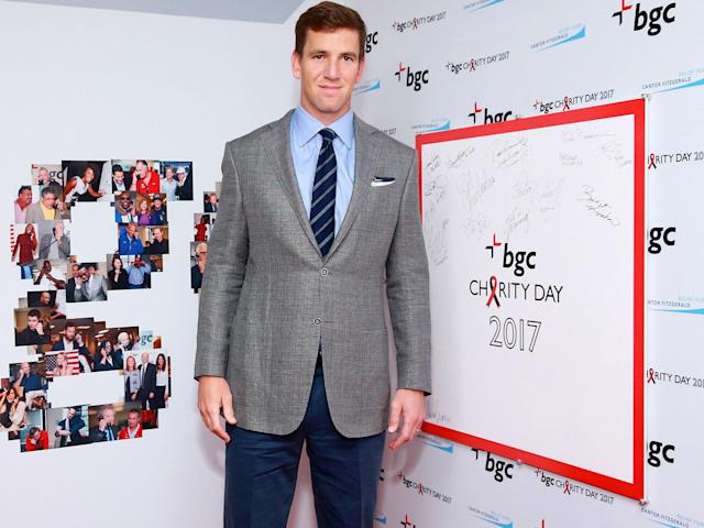 <p>Erratic as he may be on the field, the Giants QB has consistently been among the NFL's most charitable athletes. He has helped raise more than $25 million for New York March for Babies (to fight premature birth), and his work with the Tackle Kids Cancer campaign has led to more than $1 million in fund-raising.</p>
