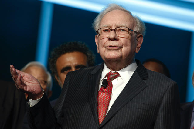 Warren Buffett (Photo by Andy Kropa/Invision/AP)