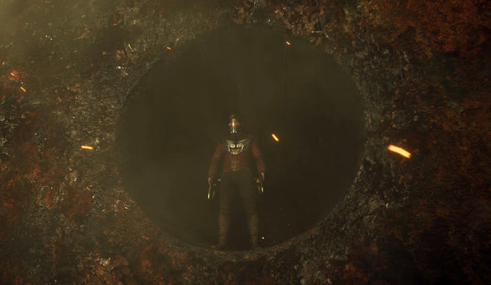 <p>What is on the other side of that portal? (Photo: Marvel) </p>