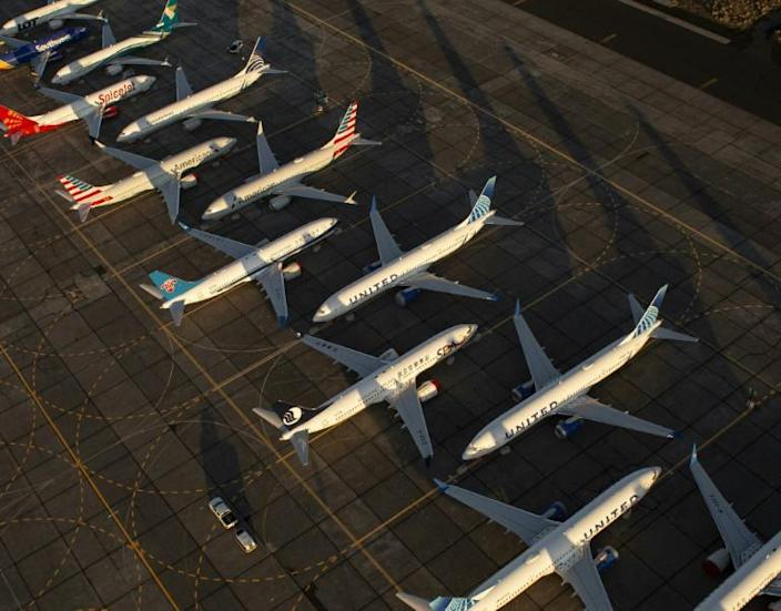 US air safety regulators could clear the Boeing 737 MAX to return to service before mid-year (AFP Photo/David Ryder)