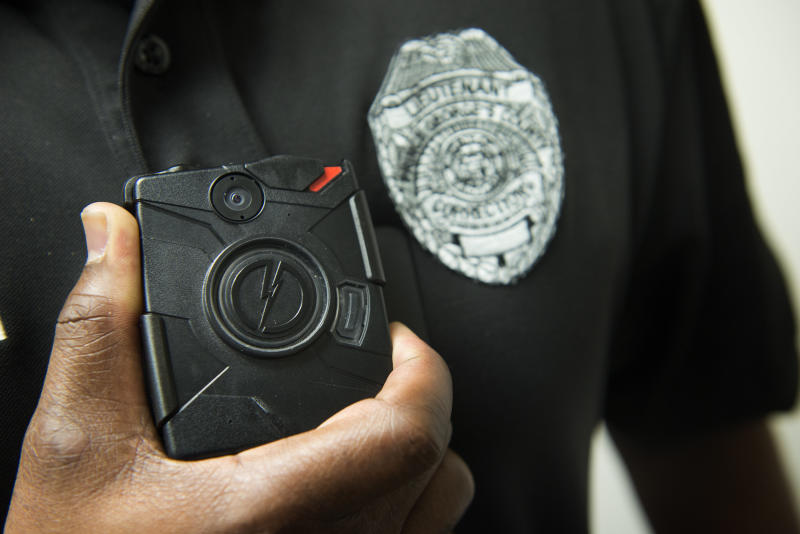No police department's body camera policy earned a perfect rating, and almost all failed across multiple metrics. (Linda Davidson/The Washington Post via Getty Images)