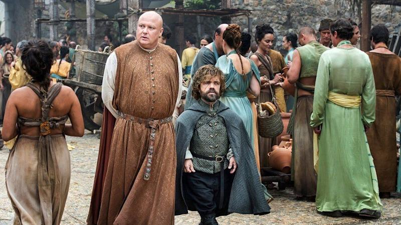 Conleth Hill and Peter Dinklage in Game of Thrones (Credit: HBO)