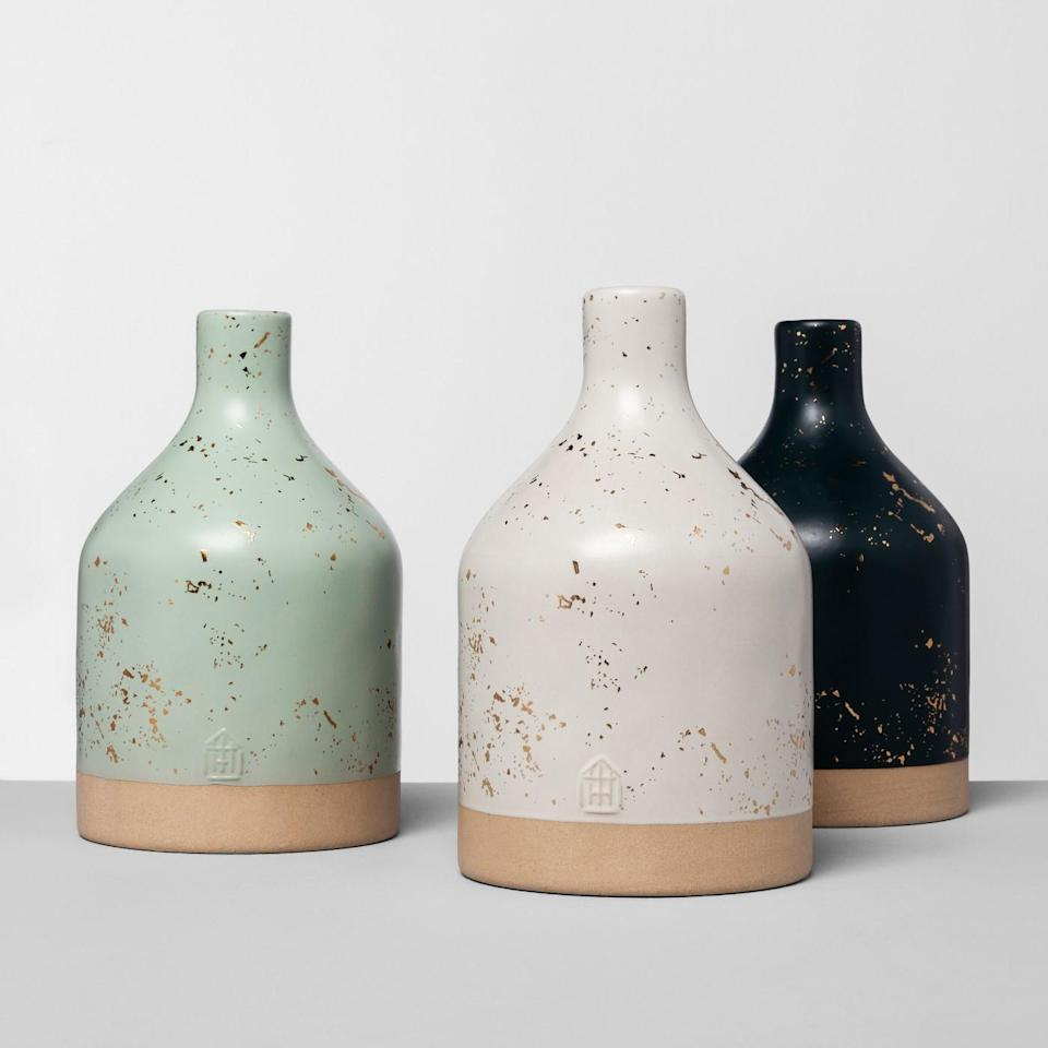 Hearth & Hand with Magnolia Speckled Jug Vase. (Photo: Target)