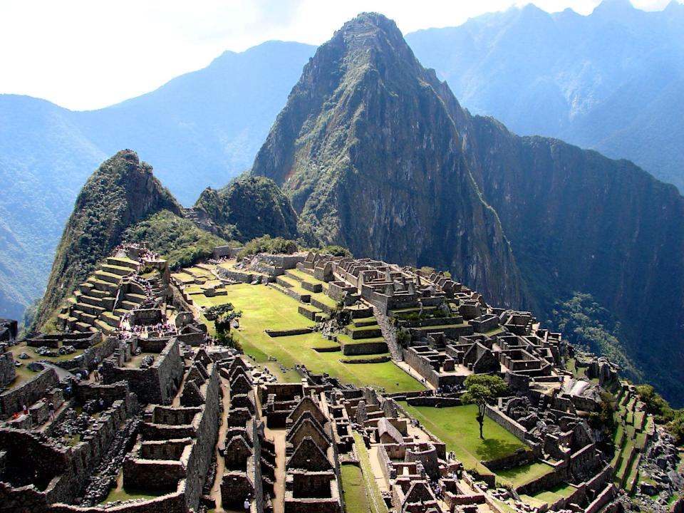 <p>Take a trip back in history to the time of the Incas in 1450 when you visit the ancient ruins of Machu Picchu. The structures were thought to serve as a royal retreat, ceremonial site, or military stronghold, according to <strong>National Geographic</strong>. Today, the ancient ruins provide a breathtaking contrast against the backdrop of the Peruvian Andes.</p>