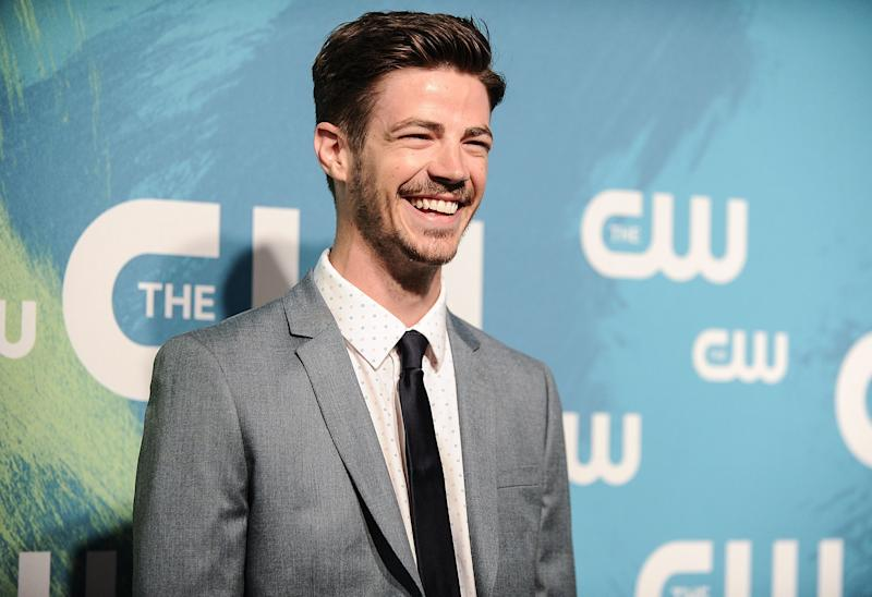 The Flash's Grant Gustin Is Engaged! See His Fiancée's Stunning Ring