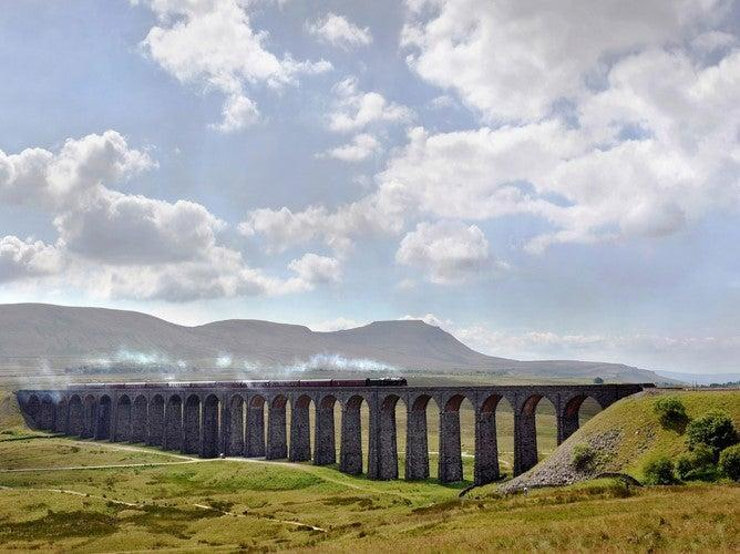 Ridbblehead viaduct in North Yorkshire (Getty Images)