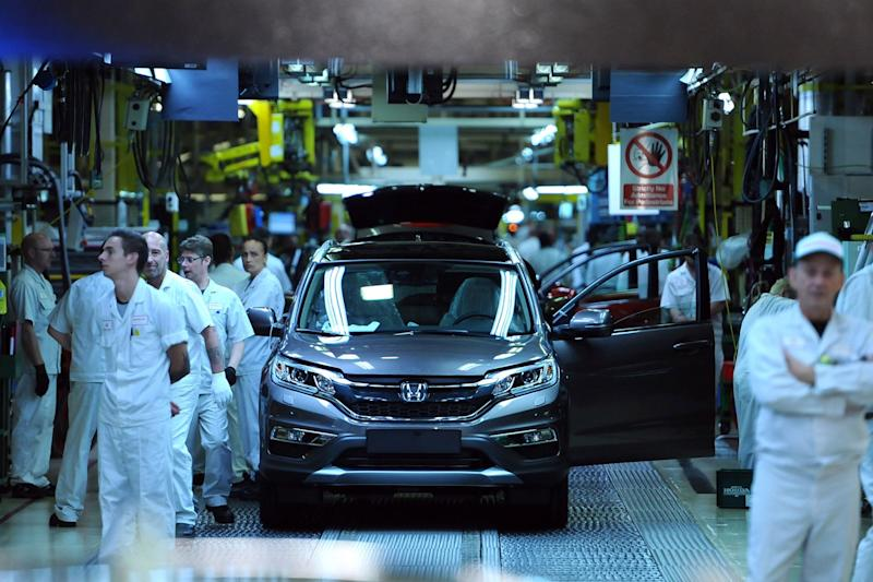 File photo: The factory is Honda's only one in the EU (PA)