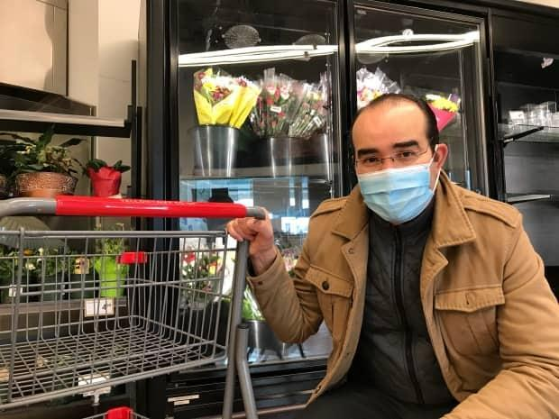 "Aziz Benali said having the pop-up clinic at the grocery store made it ""very convenient"" to get the shot while doing errands."