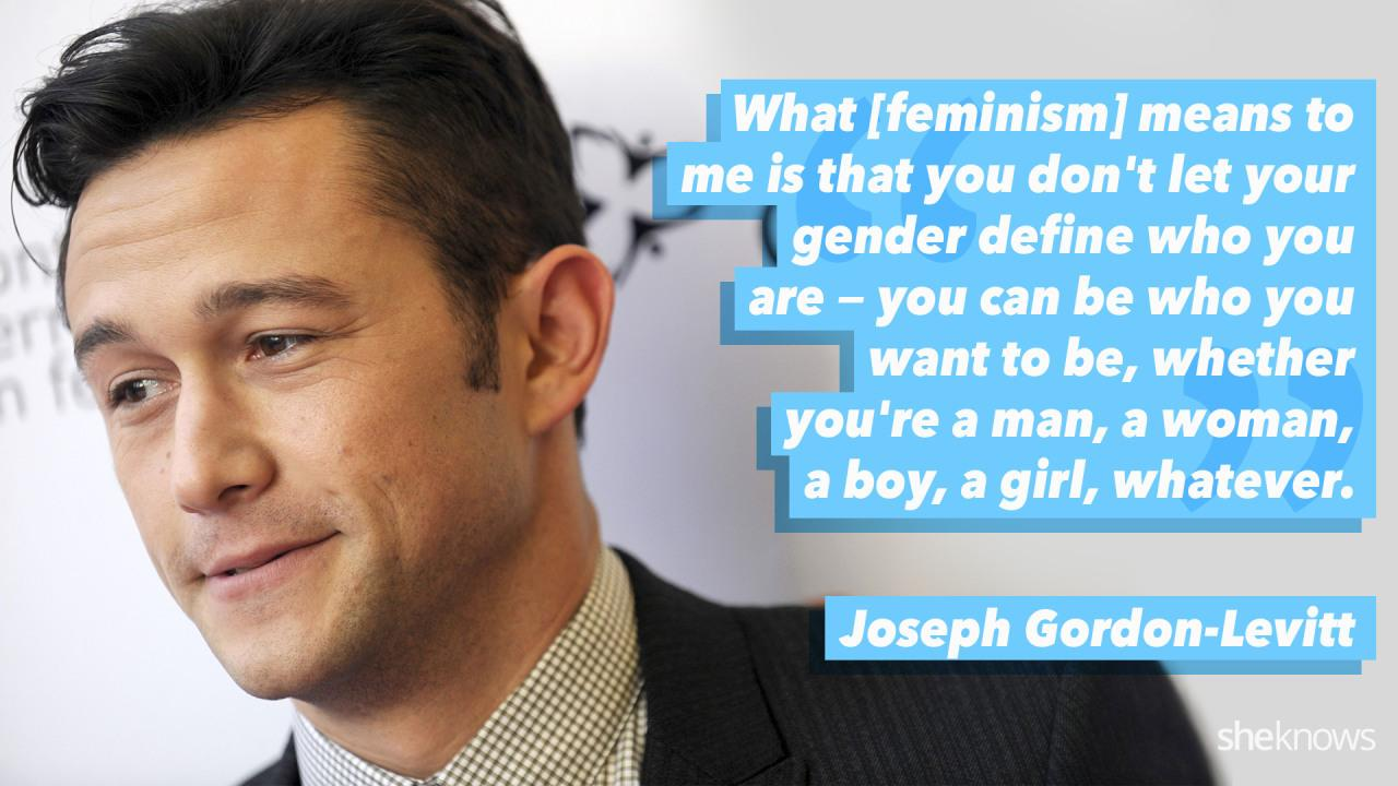JGL opens up to Ellen DeGeneres about being a feminist and what it means to him.