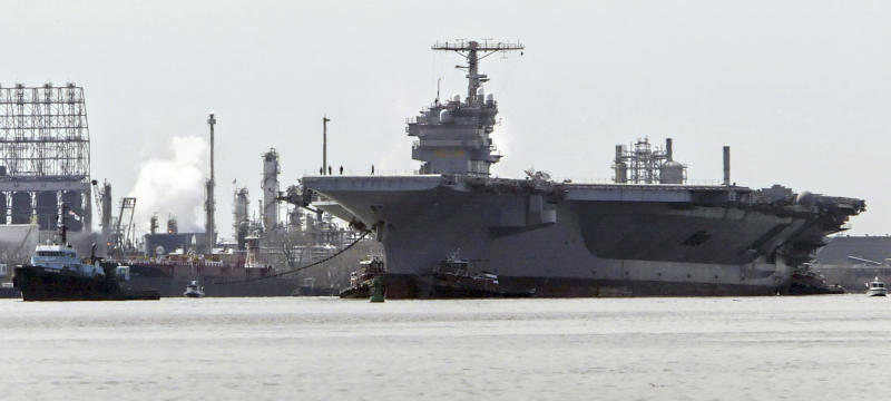 Effort grows to bring JFK aircraft carrier to RI