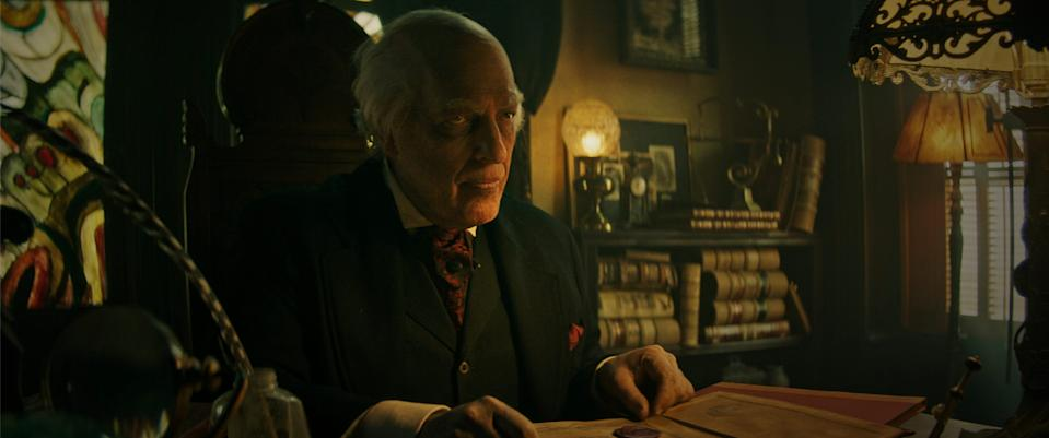 """Clancy Brown stars as storytelling mortician Montgomery Dark in the horror anthology film """"The Mortuary Collection."""""""