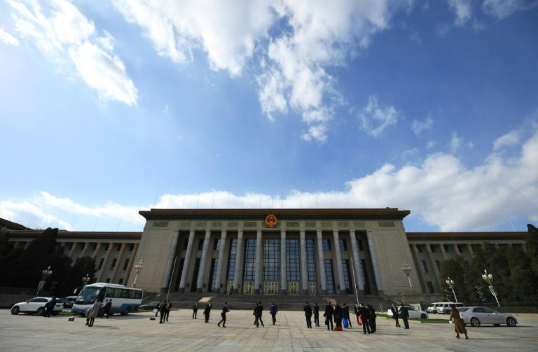 Gathering of 3,000 National People's Congress (NPC) delegates at Beijing's cavernous Great Hall of the People is staged annually