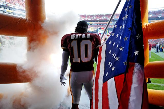 Robert Griffin III in better days. (Getty)