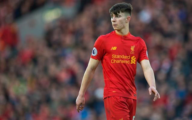 <span>Ben Woodburn is also eligible to play for Wales</span> <span>Credit: EPA </span>