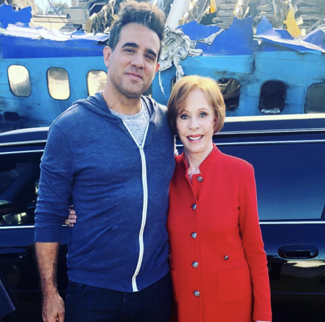 "<p>New couple alert! ""We're dating,"" Rose Byrne's husband captioned this pic with comedy legend Carol Burnett. They make a cute pair, don't ya think? (<a href=""https://www.instagram.com/p/Be6MR1Jn_Ww/?taken-by=bobby_cannavale"" rel=""nofollow noopener"" target=""_blank"" data-ylk=""slk:Bobby Cannavale via Instagram"" class=""link rapid-noclick-resp"">Bobby Cannavale via Instagram</a>) </p>"