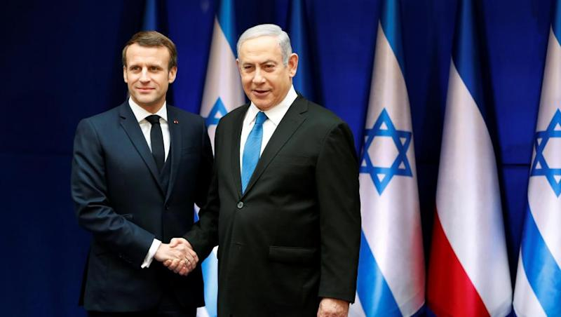 Macron says Holocaust must not be used to justify hatred or division