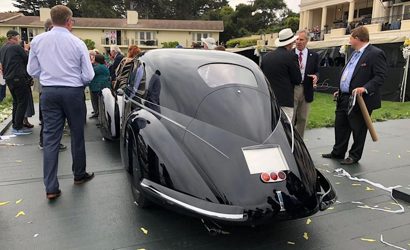 The Winner Of The Pebble Beach Concours DElegance Best Of Show - Pebble beach car show 2018