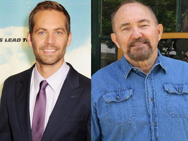 Paul Walker and his father, Paul Walker Sr. (Photo: Getty Images/Front Page Media/Splash News)