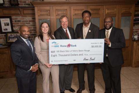 Home Bank and FHLB Dallas Award $8K to Baton Rouge Nonprofit