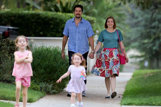 alyson hannigan dishes on her kids unique names and two
