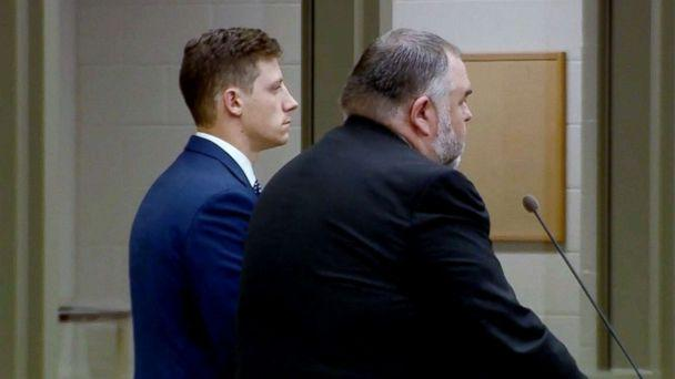 PHOTO: FBI agent Chase Bishop, 29, makes his first appearance in the Denver courthouse after he was charged with second-degree assault, June 13, 2018. (KMGH)